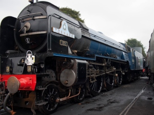 Tornado temporarily sidelined at the Mid Hants. Photo by nogbad the bad on Flickr.