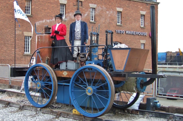The working Novelty replica in Manchester. Photo by A.H. Hurrell.